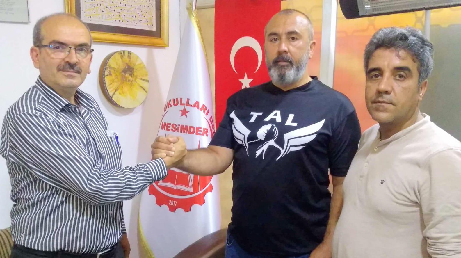 Mesimder Çelik Bilek Mehmet Emin Kaska ile  turnuvaya start verdi