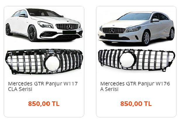 Tüm Model Mercedes Orjinal Yedek Parça İçin Mercedes Parça Marketi