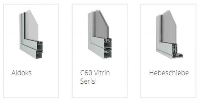 Alüminyum Pencere Sistemleri Fiyatları İçin Alutem Alüminyum