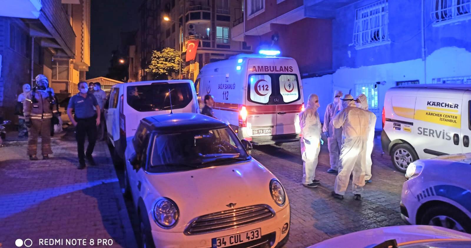 Bahçelievler'de böcek ilaçından zehirlenen çok sayıda vatandaş hastaneye kaldırıldı