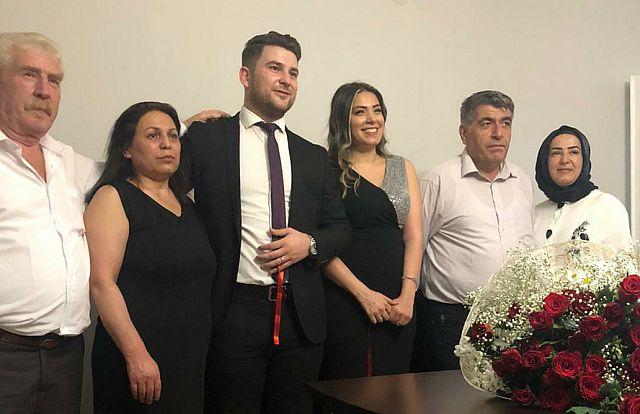 Büşra Gençay ve Alican Çakır dünya evine ilk adımı attılar