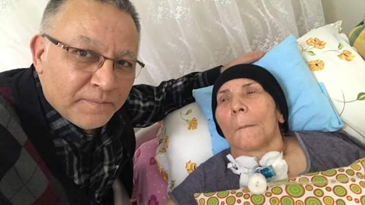 Selami Kılıç annesi Melahat Kılıcı kaybetmenin acısını yaşadı