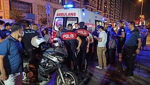 Zeytinburnu cadde üzerinde silahlı saldırı, 2 yaralı