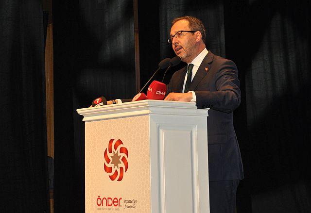 İmam Hatip 17. Kurultayda Dr. M.  Muharrem Kasapoğlu