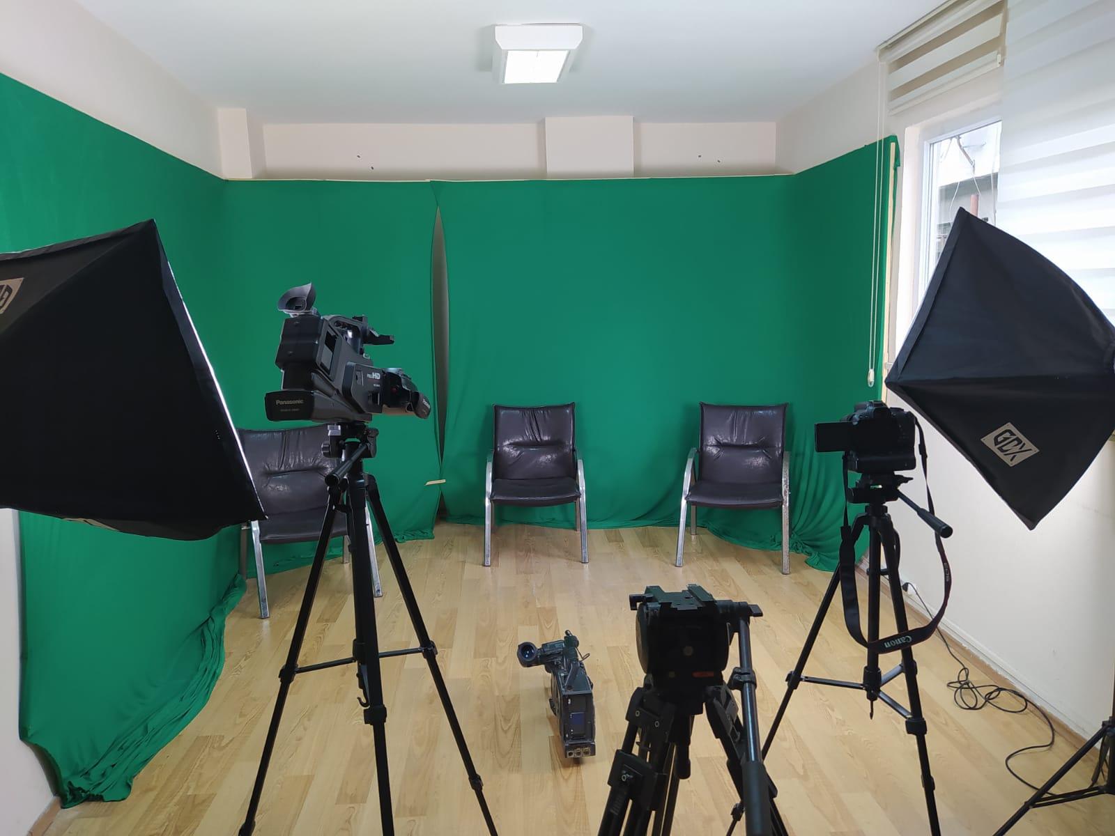 Güneşli Haber Gazetesi yeni Haber Merkezi ve Studyosuna kavuştu