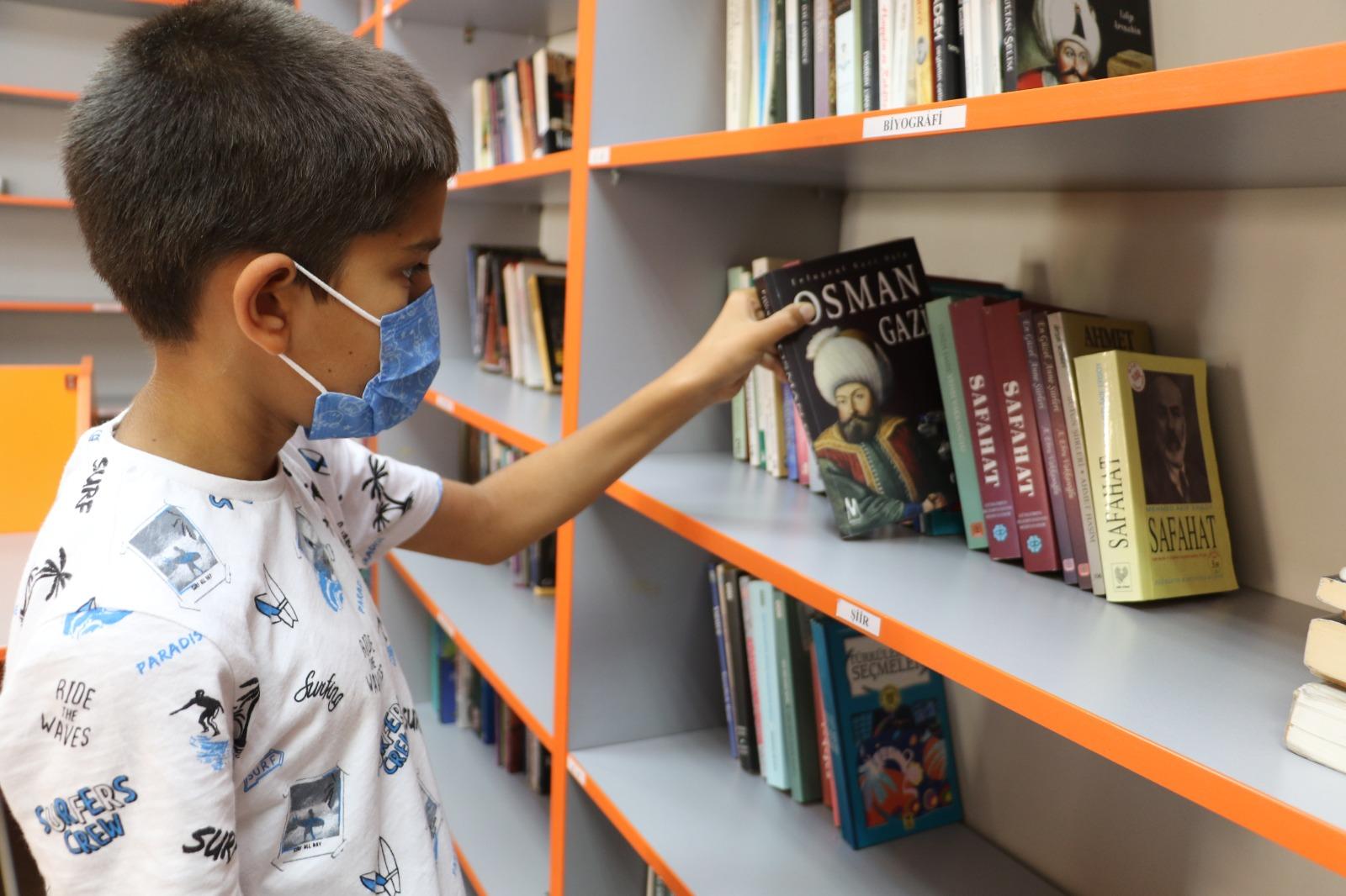 Güngören Bilgi Evleri Kütüphaneleri kapılarını Açtı