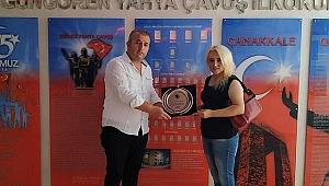 Güngören Yahya Çavuş, Nesrin Özge Taşçı'yı  Şile Ağva Kanan'a okul müdürü olarak uğurladı