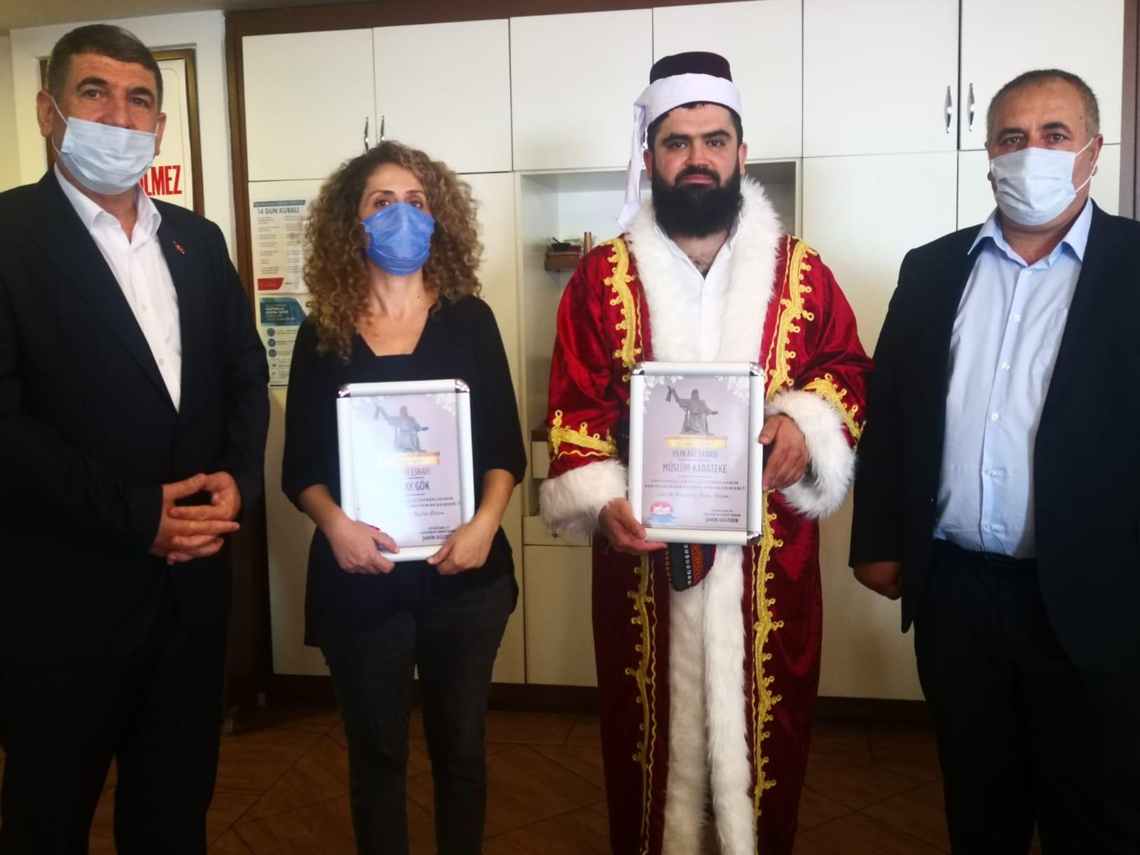 Müslüm Karateke 'Yılın Ahi Babası' seçildi