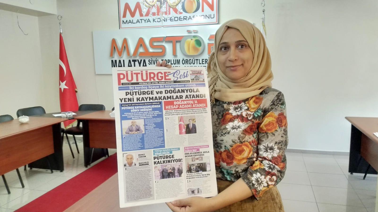 Pütürge'nin Sesi Gazetesi yayın hayatına başladı