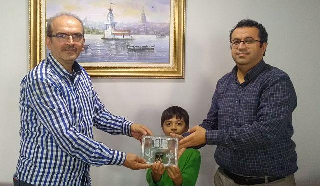 Basının kıymetini bilen adam; Teşekkürler  Mustafa Heşe