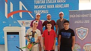 Güngören,  Gaziantep Teknofest'te Emoner Drone ile tarih yazdı