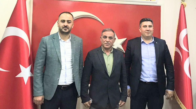 Güngören MHP Çarşıbaşı ilçe başkanı Hüseyin Kara'yı ağırladı