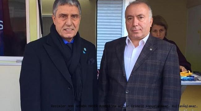 İyi Parti Zeytinburnu İlçe Başkanı Hasan Hoşben Covid-19'a yakalandı