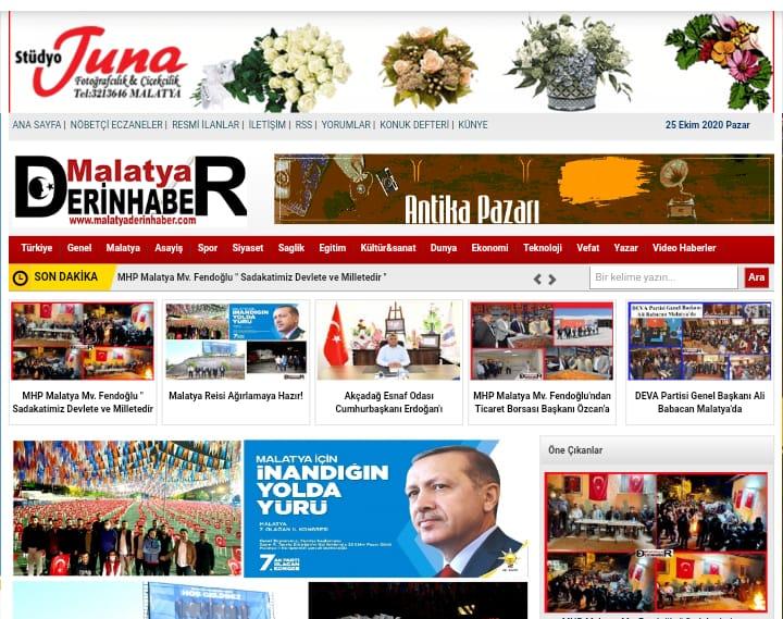 Malatya Derin Haber Malatya gündemine damgasını vuruyor