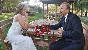 Mehmet İsimbay ve  Hilal Karayel mutluluğu nikah masasında buldular