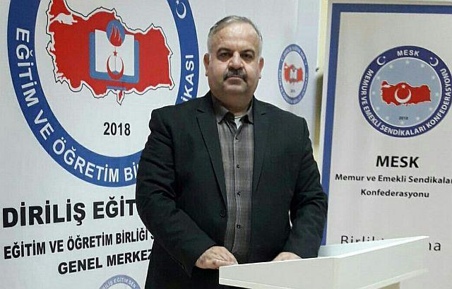 Diriliş Eğitim Sen Mehmet Nuri Kaynar