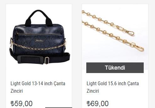 En Ucuz Çanta Zinciri Fiyatları İçin Blooming Bag!