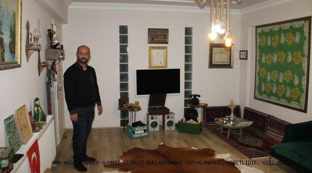 Mehmet Akçay Evini müzeye çevirdi; Geçmişi geleceğe taşıyor