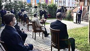 TBMM Başkanı Mustafa  Şentop Bahçelievler'de konuştu :  Kudüs, İsrail için nihai bir hedef değildir