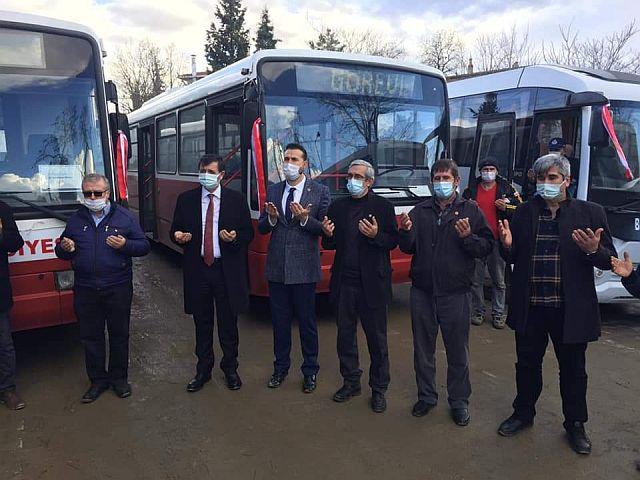 Ekrem İmamoğlu Otobüslerle Beyendik Belediyesi ve halkının yüzünü güldürdü