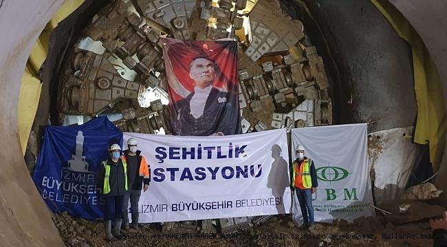 İzmir Narlıdere Metrosu'nda ışık göründü