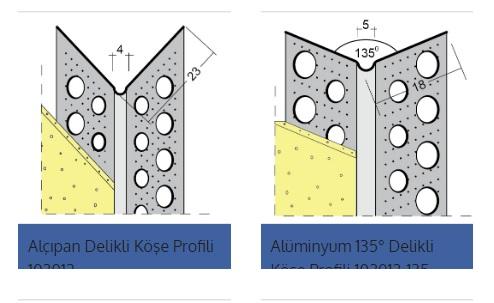 Alüminyum Köşe Profili