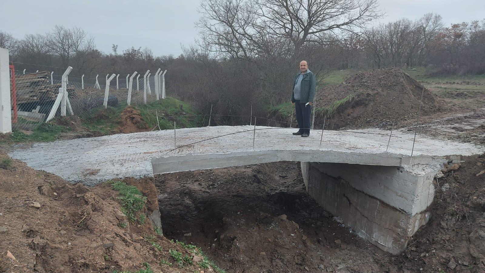 Kırklareli''ne bir köprü eseri''de çılgın Malatya'lı Hüseyin Memiş'ten