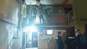 Tozkoparan'da silahlı çatışma polisi alarma geçirdi, 1 kişi yaralı