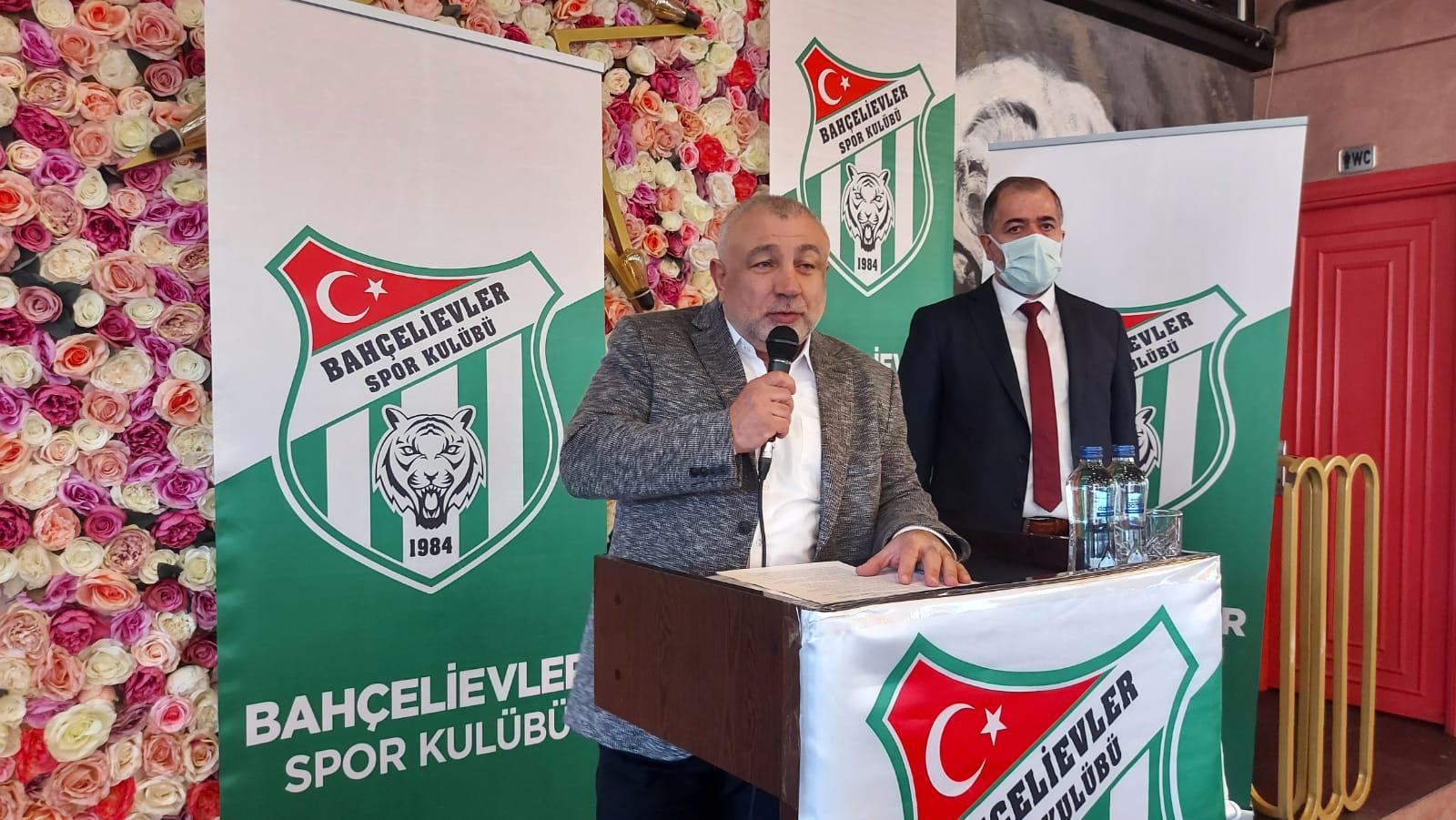 """Bahçelievlerspor Levent Dilaver rest çekti, """" Üst liglere çıkartamazsam bırakırım"""""""