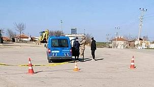Edirne ipsala'da 4 köy karantinada