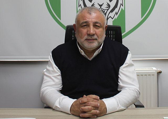 Levent Dilaver, Bahçelievlerspor başkanlığını resmen ilan etti