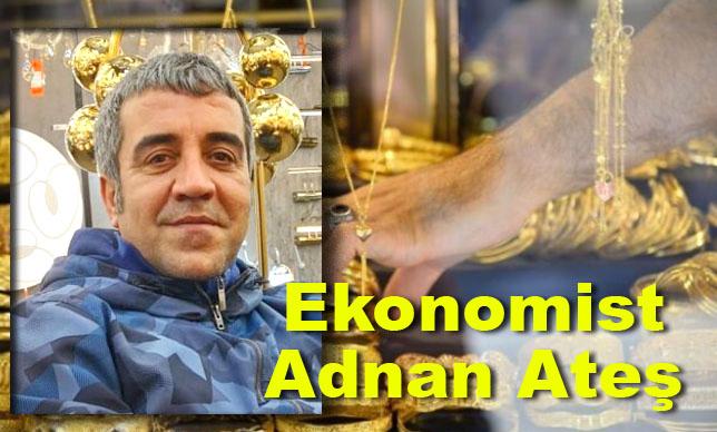 """Ekonomist Adnan Ateş """" Kripto para borsaları mahalledeki kuyumculardır. Paralarınızı borsalarda barındırmayın """""""