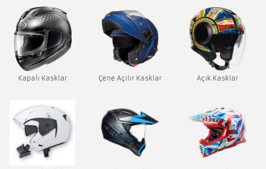 Motosiklet Kaskı Fiyatları ve Modelleri için Motosiklet Online!