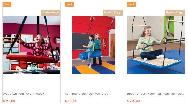 Çocuk Salıncağı Fiyatları ve Modelleri oyunterapimarket.com'da!