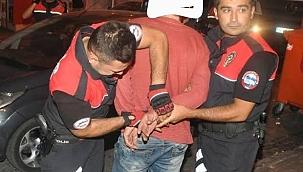 Polisin DUR ihtarına uymayan şahıs az kalsın can yakıyordu