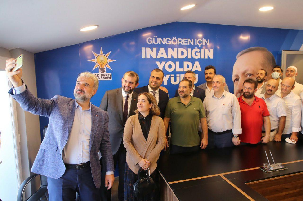 Osman Nuri Kabaktepe Güngören'e çıkartma yaptı
