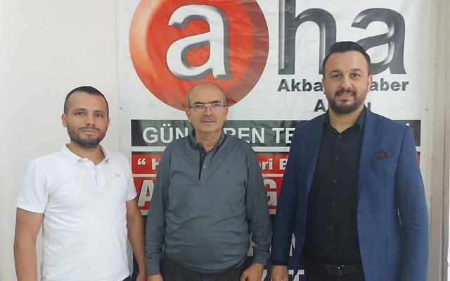 Akbaba Haber Ajansı Eser Bozkaya ve Yasin Uluhan'ı ağırladı