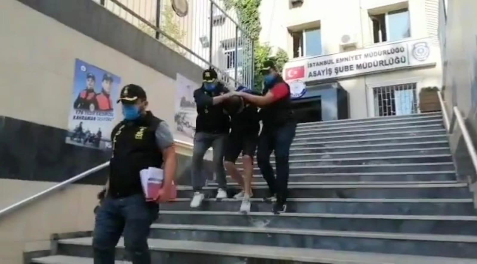 Bağcılar'da taksiciye kurşun sıkan gaspçı polisin gazabından kurtulamadı