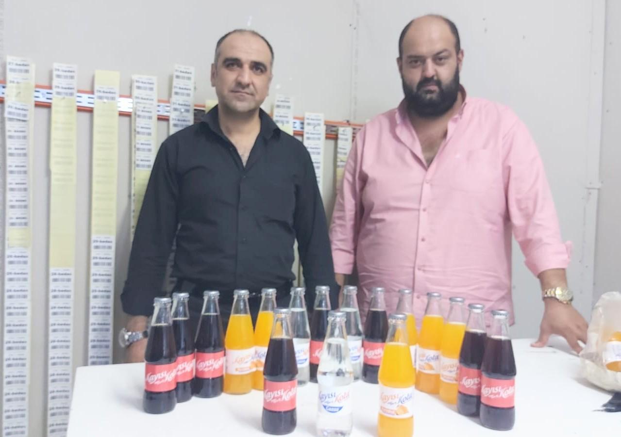 Malatya'nın değeri Efsane Kayısı Kola Gazozu İstanbul'da