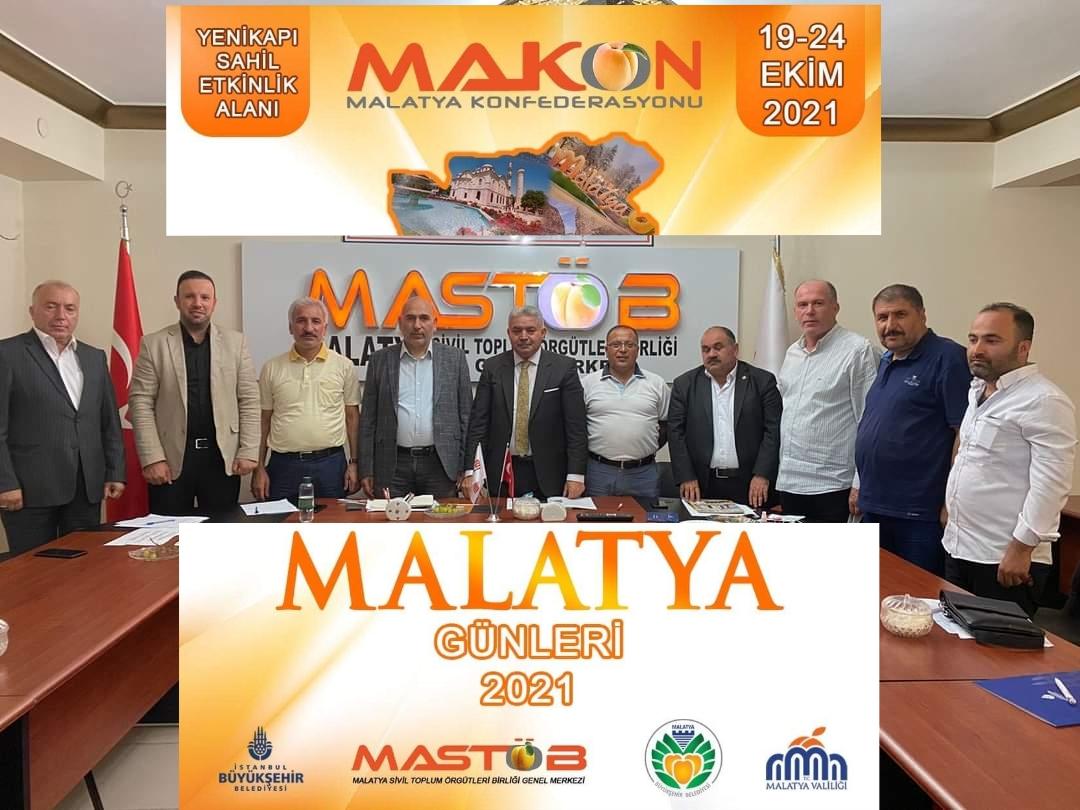 Malatyalılar 19-24 Ekim Yenikapı buluşmaları için kolları sıvadılar