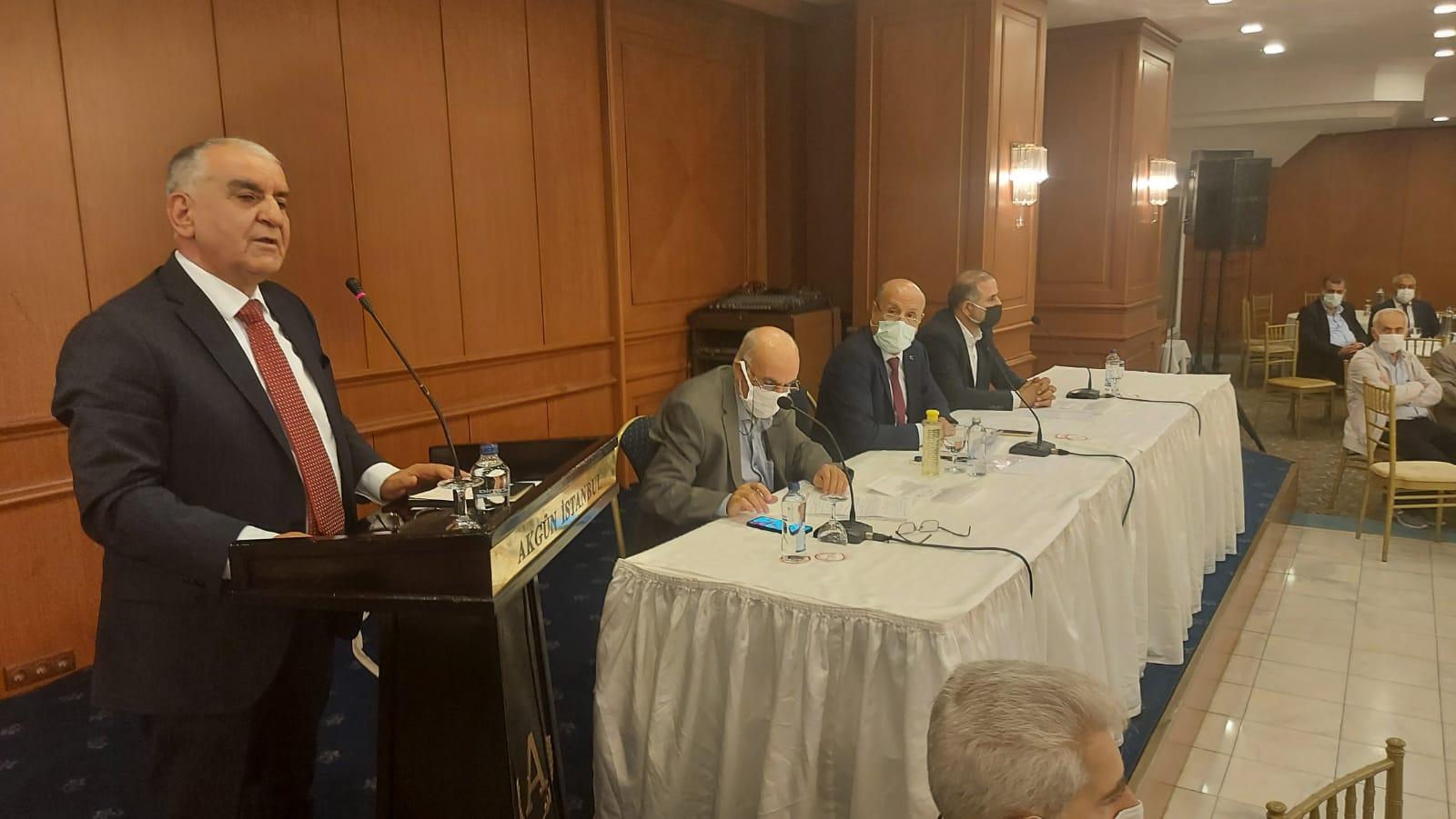 Pütürge Eğitim Vakfı başkanlığına kıl payı Dr. Hasan Hüseyin Şener seçildi