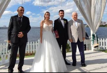 Seda Ece ile Sedat Yalçın'ın mutluluklarına Faik Yılmaz şahit oldu