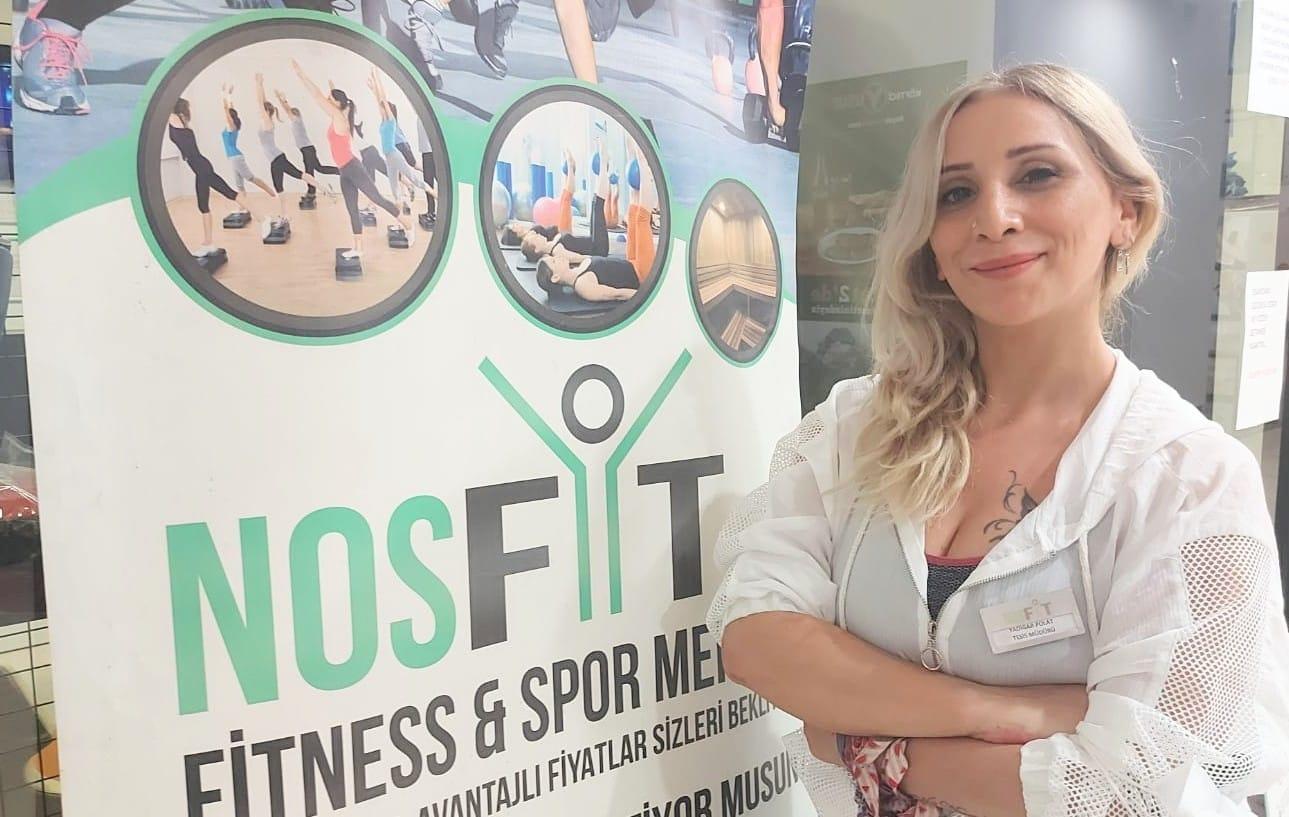"""Yadigar Polat """" Nosfit Fitness Spor Merkezinde bayanlara özel Alan ve Studio derslerimiz var"""""""