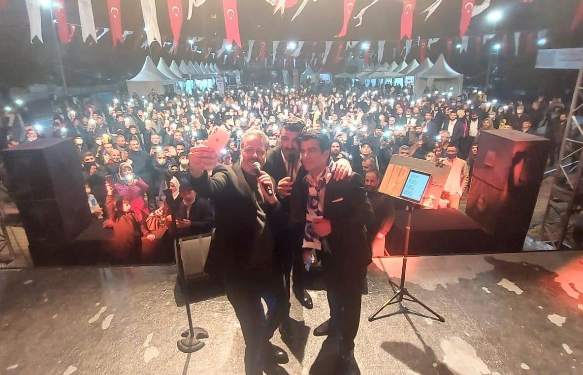 2. Arapgir Üzüm Festivali Muhteşem finalle sona erdi