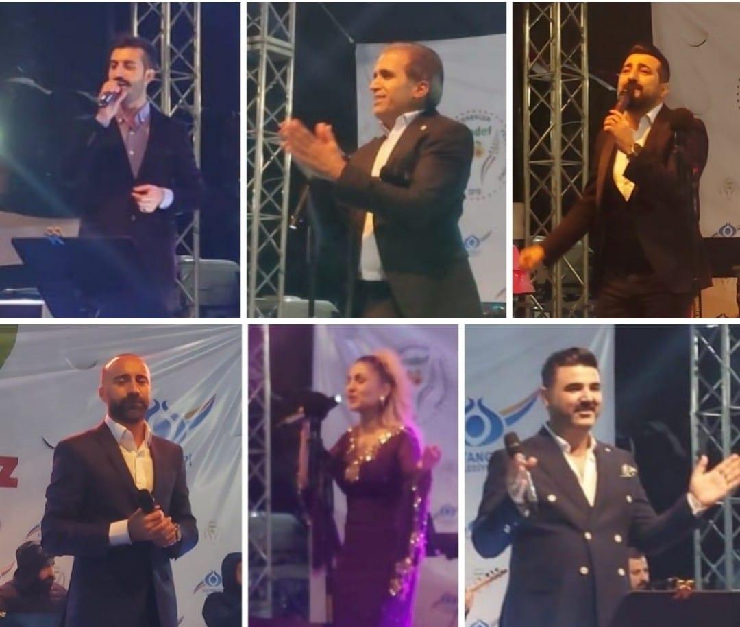 2. Arapgir Üzüm Festivalinde Malatya'nın yıldızları geçti