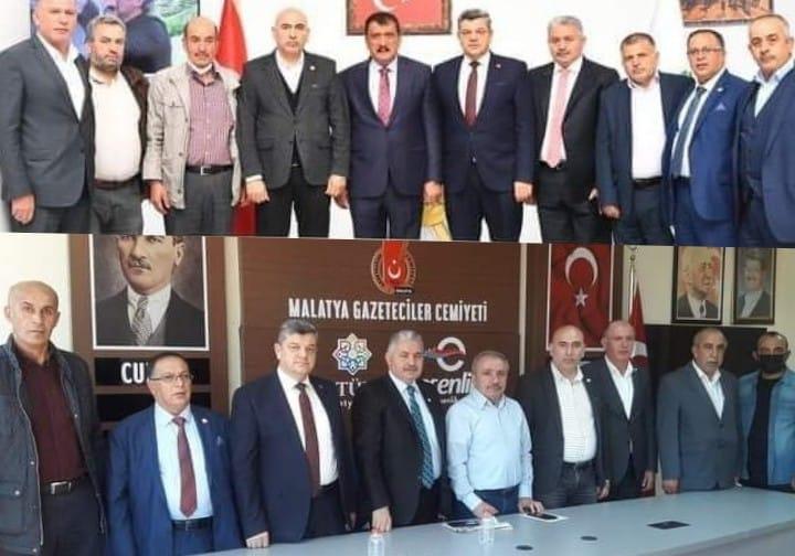 Makon heyeti 19-23 Ekim Yenikapı Malatya Günleri için Malatya'ya çıkartma yaptı