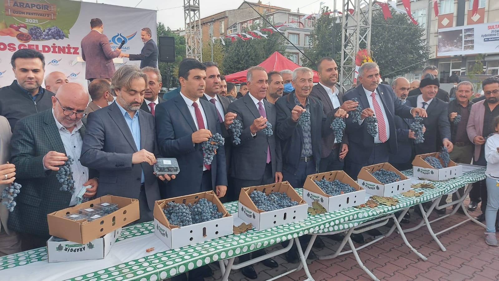 Malatya 2. Arapgir Üzüm Festivali start aldı