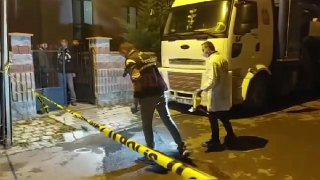 Sancaktepe'de Gece Kartalı Bekçiler ayağından ve gögsünden vuruldu