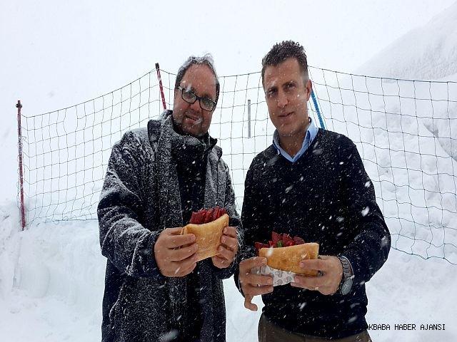 """Antalya Kar Keyfini """"Tahtalı"""" Da Çıkarıyor"""
