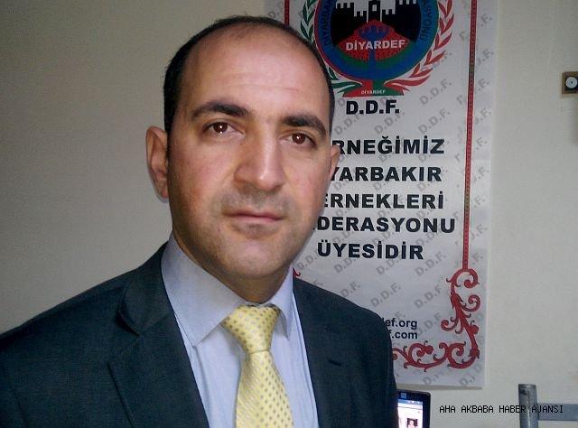İbrahim YALÇINTEPE - DİYARDEF Diyarbakır dernekler federasyonu genel başkanı